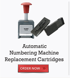 Automatic Numbering Machine Replacement Cartridges