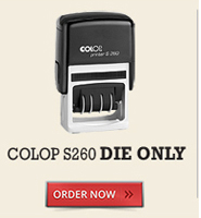 Colop S260 Die Only