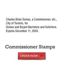 Commissioner Stamps