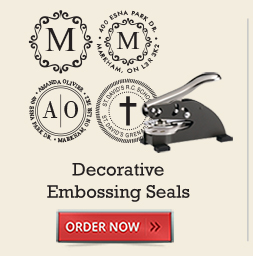 Decorative Embossing Seals