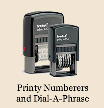 Printy Numberers & Dial-A-Phrase