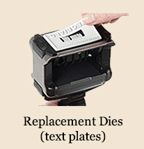 Replacement Dies / Text plates