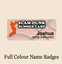 Full Colour Name Badges