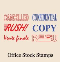 Office Stock Stamps