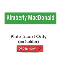 Plate Insert Only