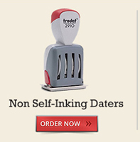 Non Self-Inking Daters