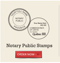 Notary Public Stamps
