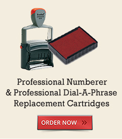 Professional Numberer & Dial-A-Phrase Replacement Cartridges