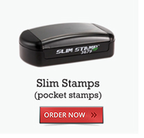Slim Stamps (pocket stamps)