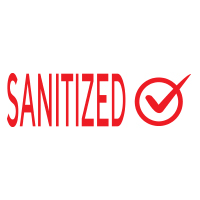 """168533 - Stock COVID Message: """"SANITIZED"""""""