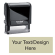"Perfect for address labels, return address stamp, bank deposit stamps, wedding invitations, impression size approx. 7/8"" x 2-3/8"""