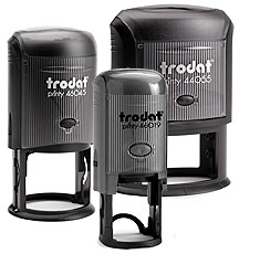 Trodat Printy Self-Inking Round and OvalStamps